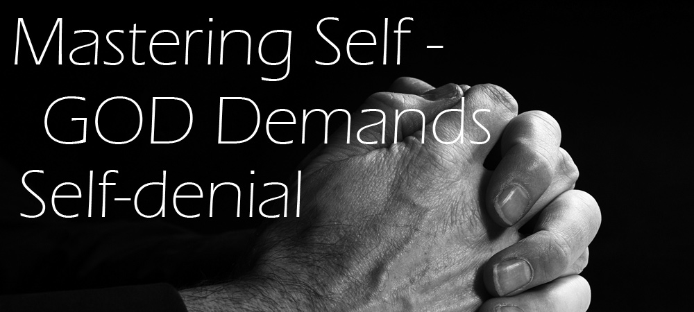 Self-Denial Graphic